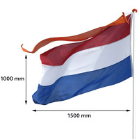 Vlag Nederland 1000 x 1500 mm