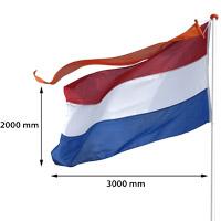 Vlag Nederland 2000 x 3000 mm