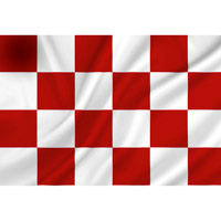 Vlag Noord-Brabant 1500 x 2250 mm