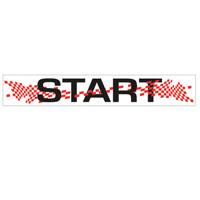 Vlag Start 800 x 5000 mm
