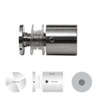 Afstandhouder Universeel 25 mm. klembereik 8 - 24 mm. boorgat 18 mm