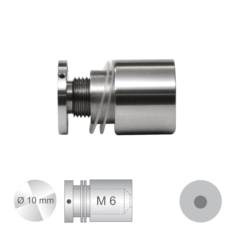 Afstandhouder ConFix3 klembereik 4 - 10 mm diameter 8 mm.