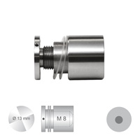 Afstandhouder ConFix3 klembereik 4 - 10 mm. doorsnede 10 mm.