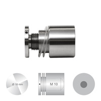 Afstandhouder ConFix3 klembereik 4 - 10 mm. doorsnede 18 mm. Boorgat 13 mm.