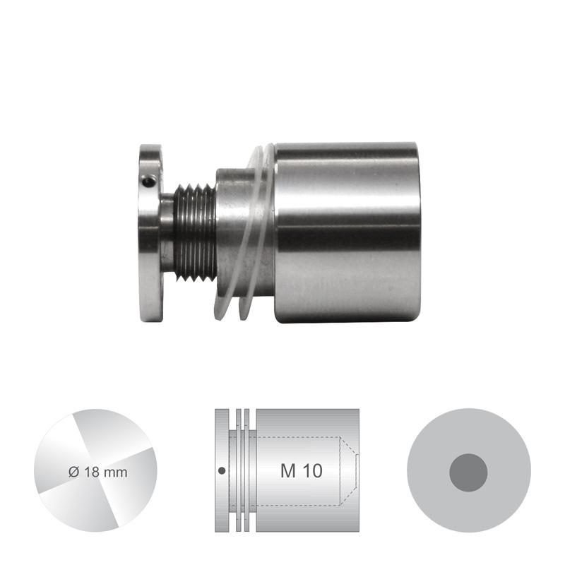 Afstandhouder ConFix3 klembereik 4 - 10 mm Ø 18 mm Boorgat 13 mm