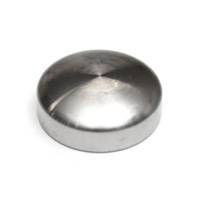 Ornamental cap round head diameter 18 mm height 6.0 mm
