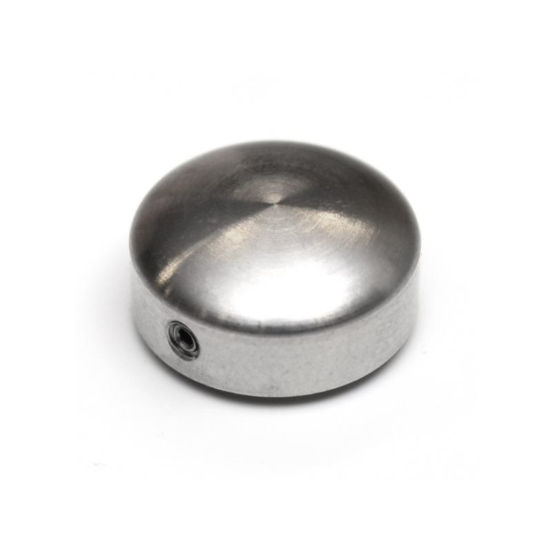 Ornamental cover additional grub screw flat head avec diamètre 15 mm height 6,5 mm security