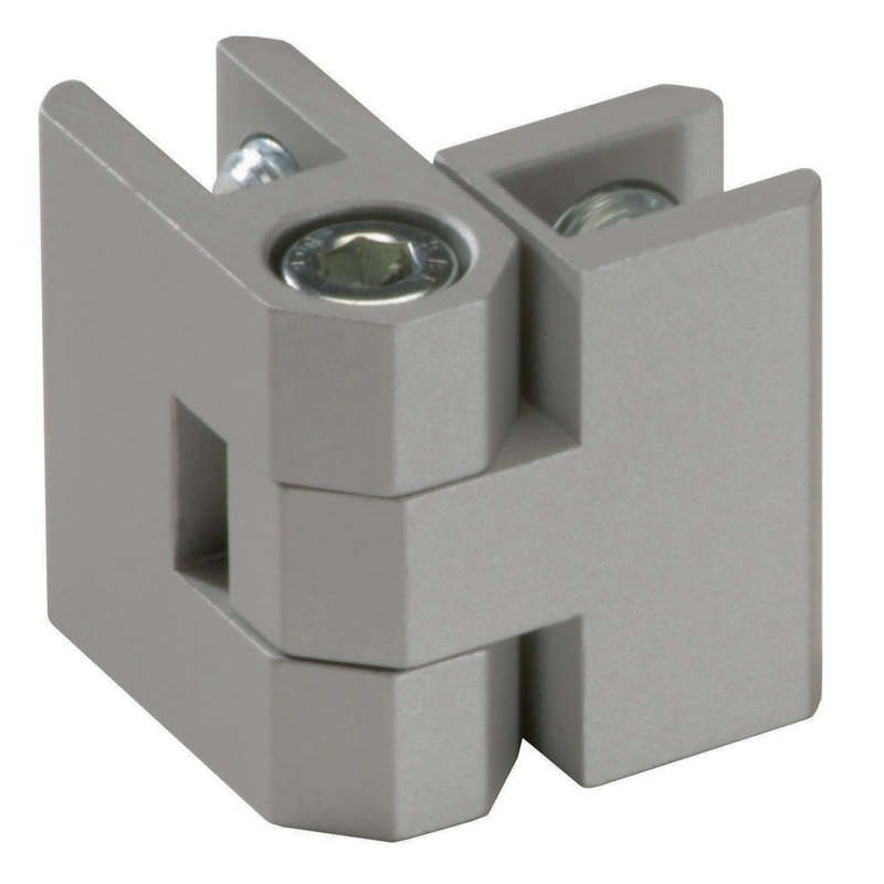 Panel connection adjustable 90-270 degree