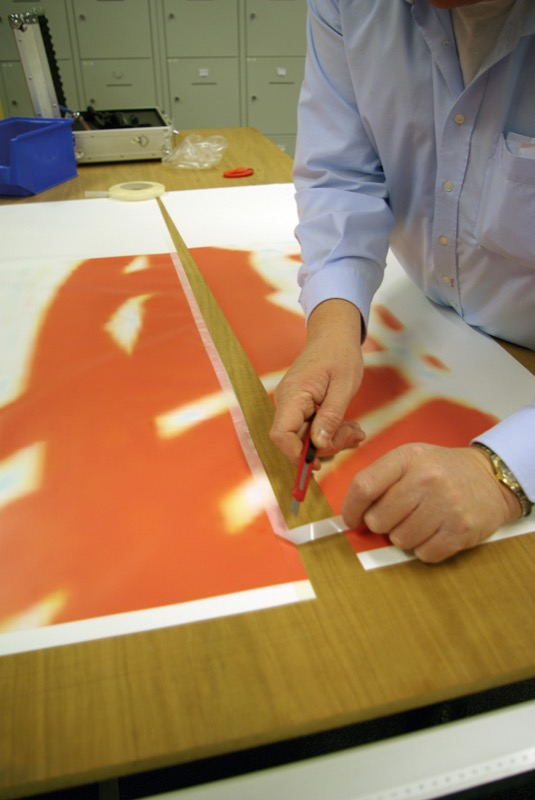 Bannertape 15 mm wide, 25 m long
