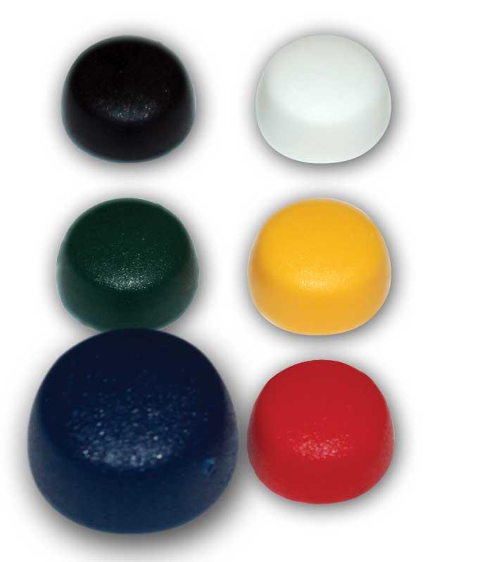 Casquette bleu de diamètre 12.2 / 10.8 mm