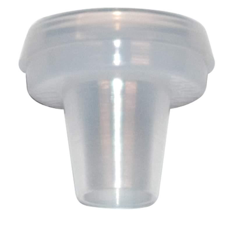 Bouchon à vis centrale. 10.8 mm de diamètre naturel
