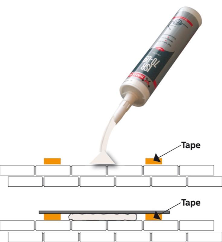 Polymer mounting kit ISR 7008
