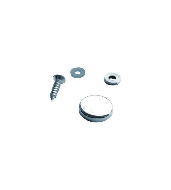 Multi-fix cover for screw diameter 18 mm