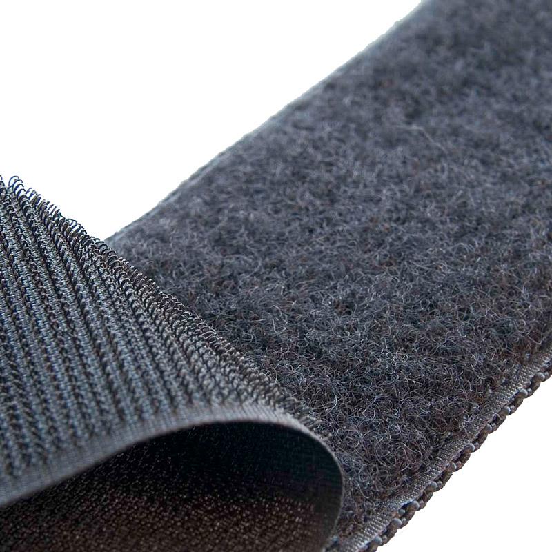 Brand hook fastening tape 38 mm black