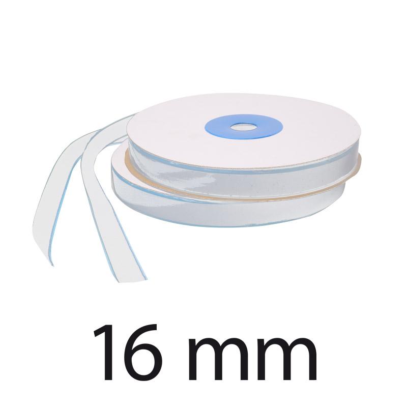 16 mm boucle Velcro Blanc
