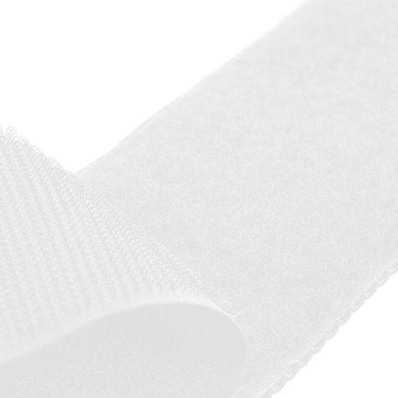 Brand loop fastening tape 38 mm white