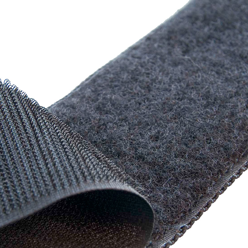 Brand loop fastening tape 38 mm black