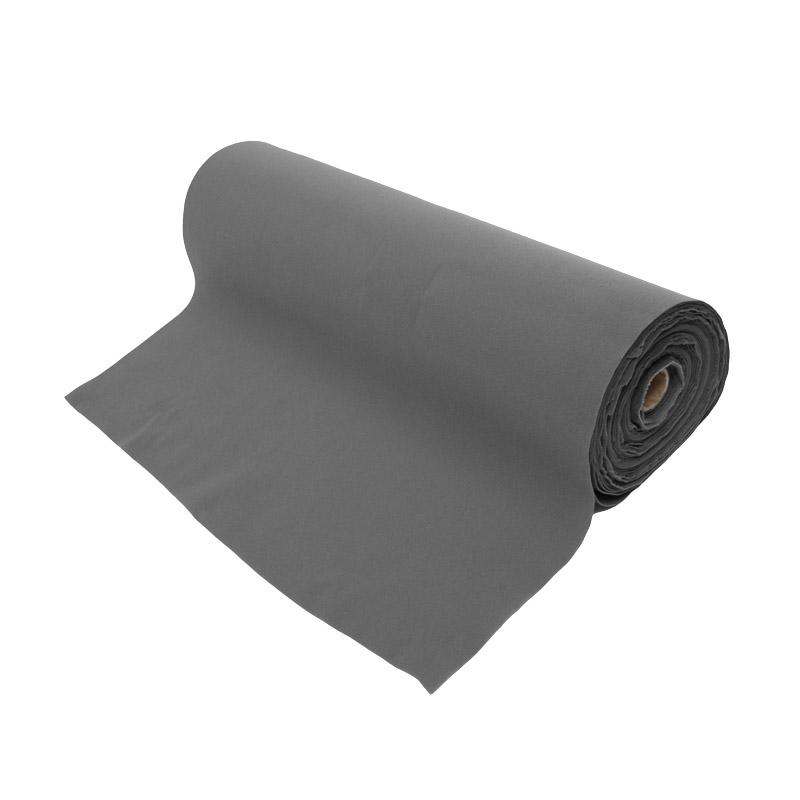 Fastening tape 1000 mm sl-velour grey