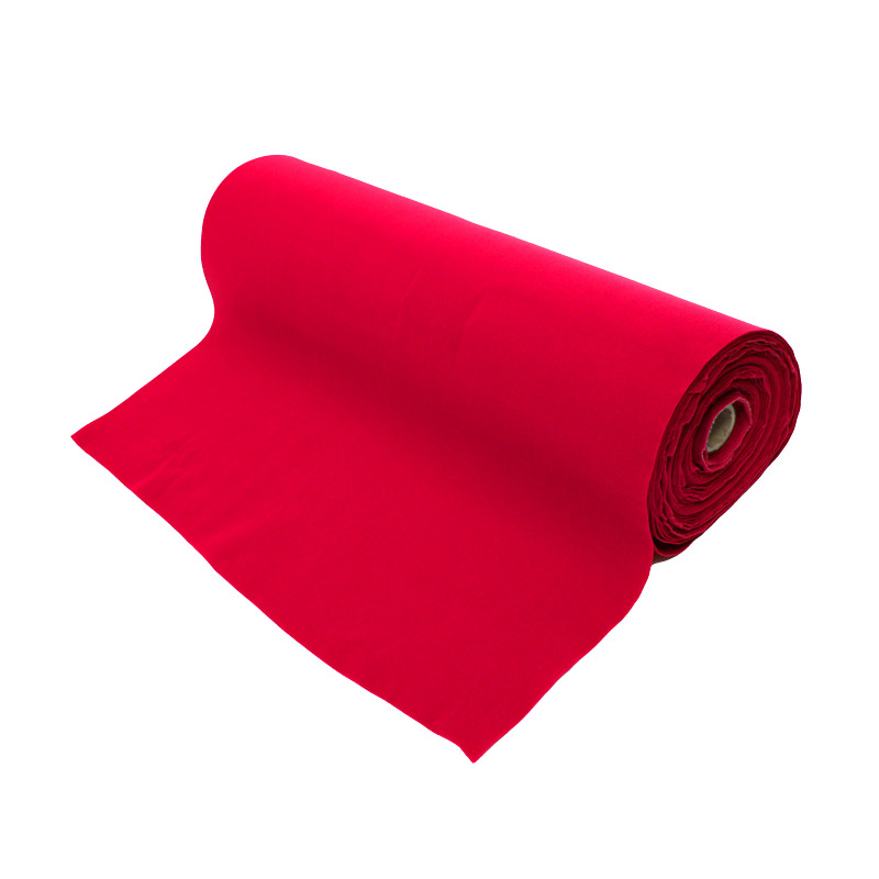 Fastening tape 1000 mm sl-velour red