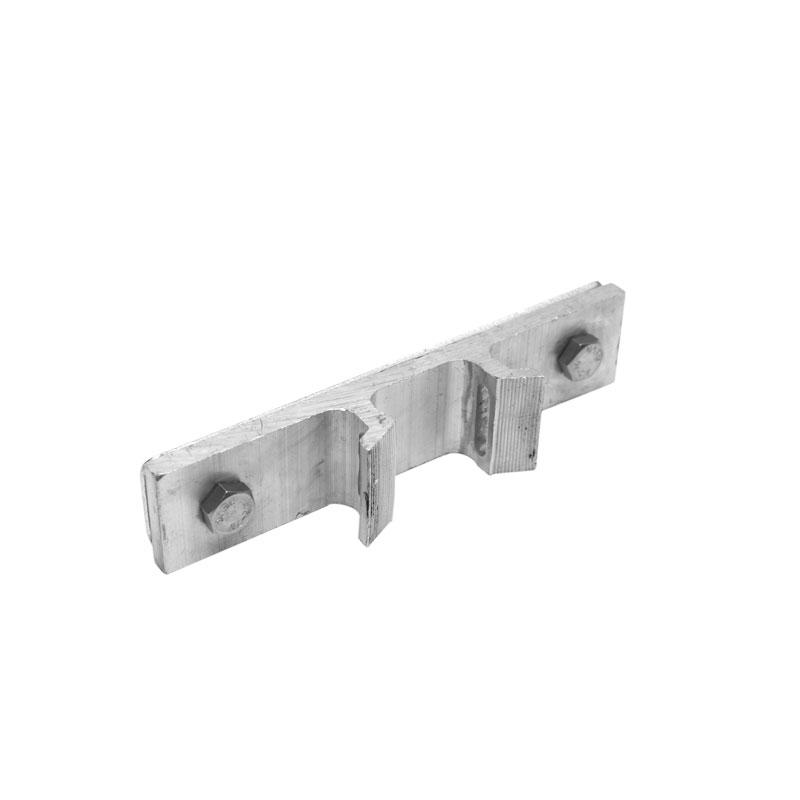 Aluminium clamp plate 155 mm