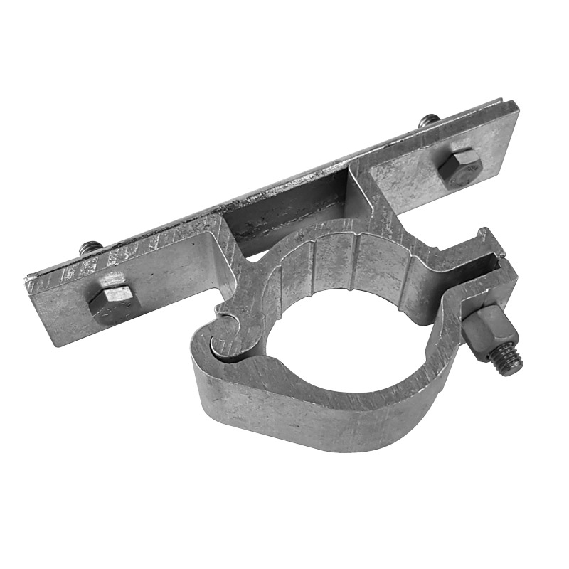 Alu-hingeclamp (pole) single-sided