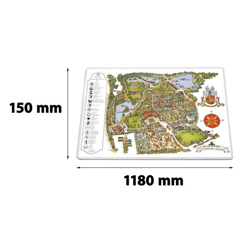 Verkeersbord rechthoek 1180 x 150 mm