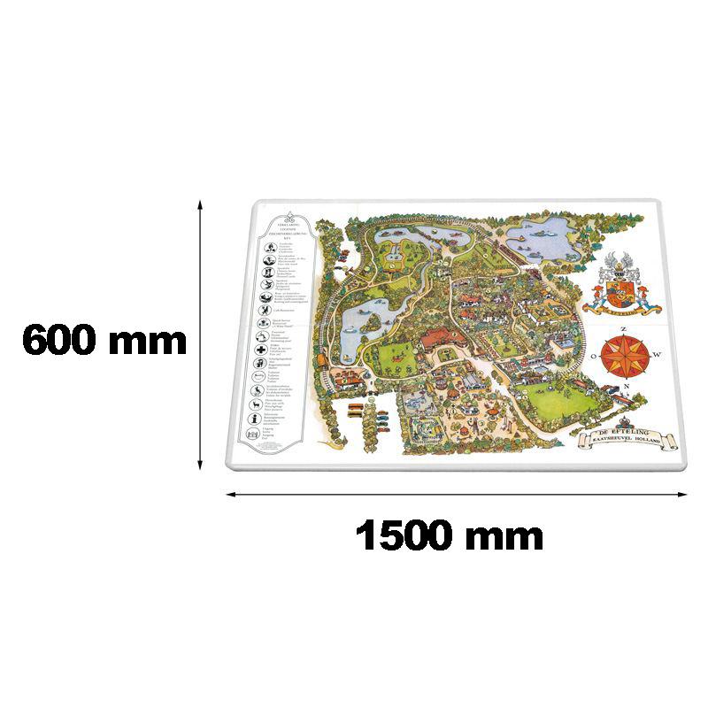 Traffic sign 1500 x 600 mm