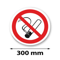 Traffic sign round 300 mm