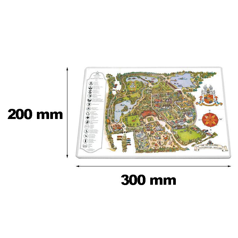 Verkeersbord rechthoek 300 x 200 mm