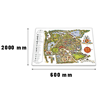 Traffic sign 600 x 2000 mm