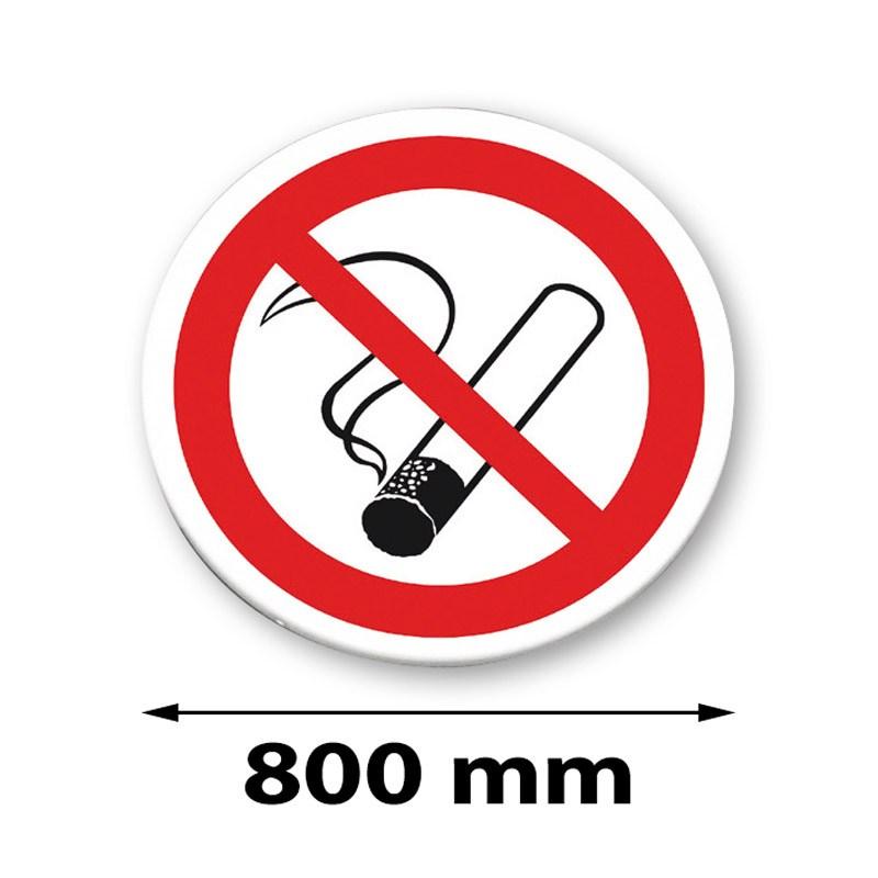 Panneau de signalisation arrondis 800 mm
