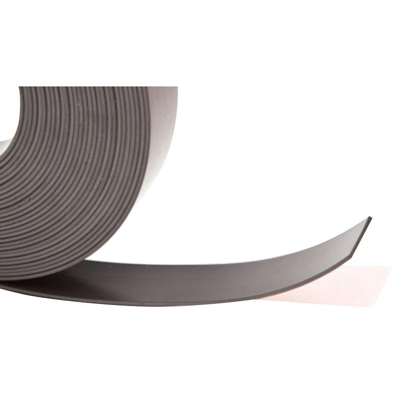 Magneetband zelfklevend, dik 1,5 mm, kleefstof Fasson306a, Polarisatie N/S/N