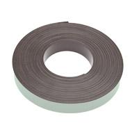 Magneetband zelfklevend, dik 1,5 mm, kleefstof Fasson306a, Polarisatie N/S/N/S/N/S/N/S/N
