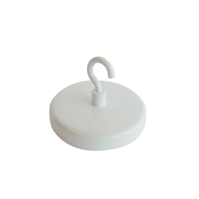 Ceiling magnets 43 mm white