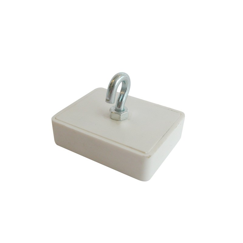 Ceiling magnets 29 x 33 mm white