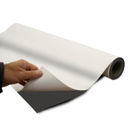 Magneetfolie zelfklevend 0.5 x 615 x 30000 mm