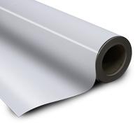 Magneetfolie wit 0.6 x 615 mm x 30.000 mm gelamineerd