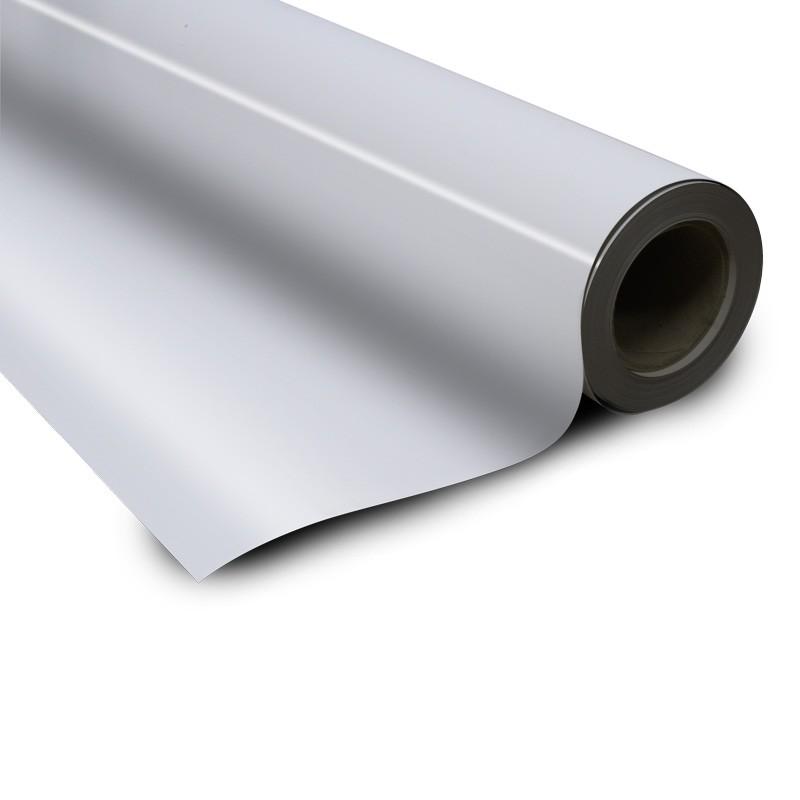 Magnetic foil white 0 6 x 615 mm