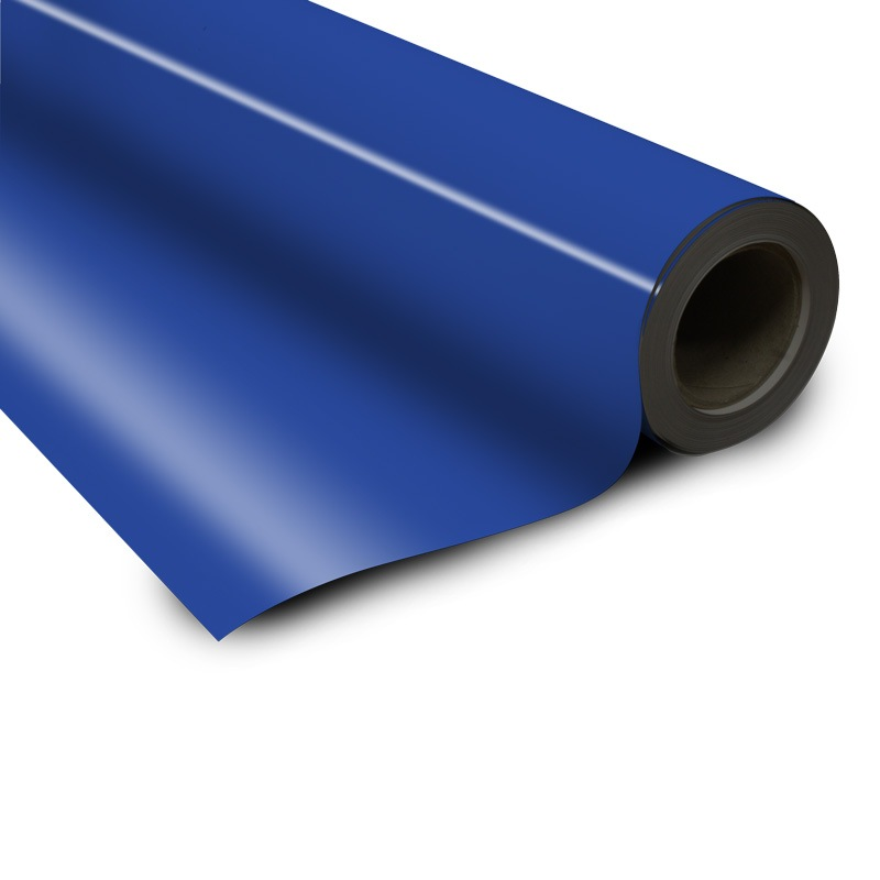Magnetic foil blue 0 6 x 615 mm