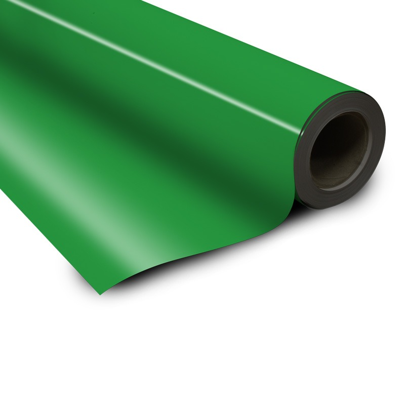 Magnetic foil green 0 6 x 615 mm