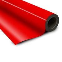 Magnetic foil red 0 6 x 615 mm