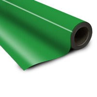 Magnetic foil green 0 85 x 615 mm