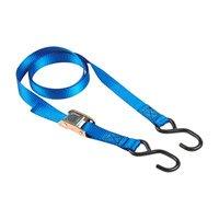 Masterlock 4 Spanbanden met S-haak, 0,5m, blauw