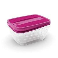 Kis-Prendo voedsel container, is geschikt voor de vriezer en de magnetron. inhoud 750 ml.