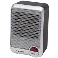 Ventilatorkachel 600W grijs