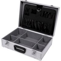 Aluminium koffer 457x330x152, zilver