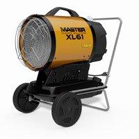 Master infrarood diesel heater XL 6 met trolley