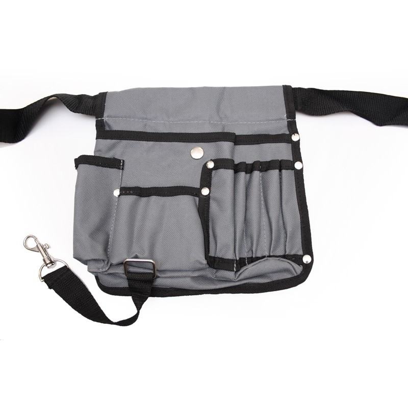 Big waist bag of nylon with ample storage space