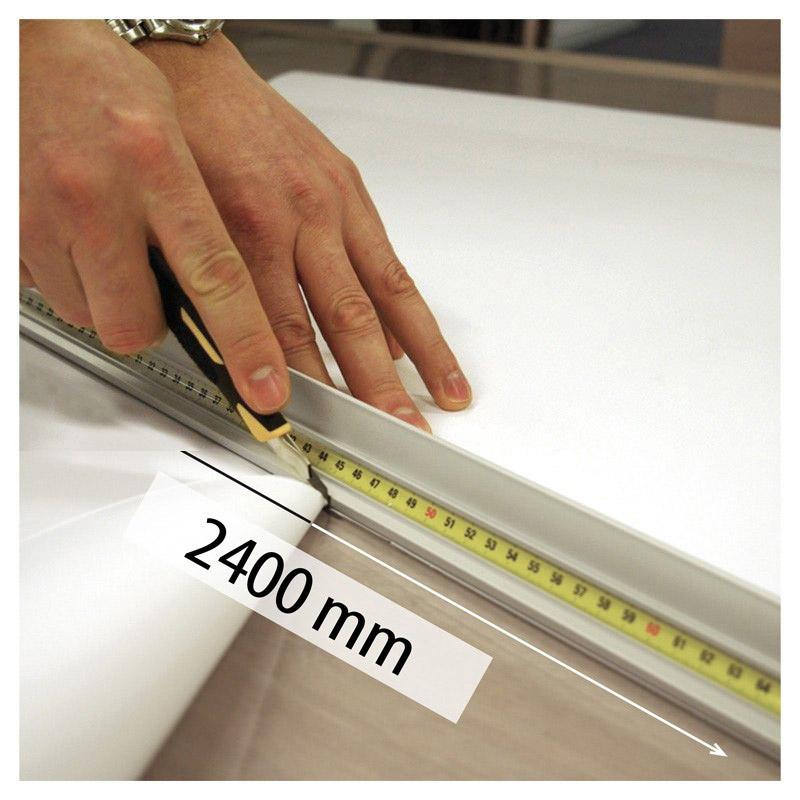 Aluminium snijliniaal 2400 mm