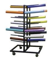 Foil rols rack mobile